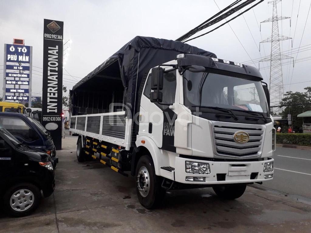 Xe tải thùng dài 10m duy nhất tại BD | faw 8 tấn thùng dài 10m