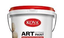 Cung cấp sơn giả đá Kova màu chuẩn, giá rẻ cho công trình