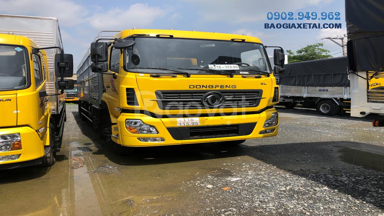 Xe tải Dongfeng Hoàng Huy 4 chân tải trọng 17T9 - Giá xe Dongfeng 2020