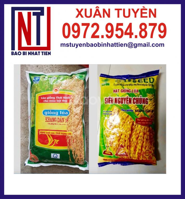 Chuyên in túi đựng lúa giống 1kg (ảnh 6)