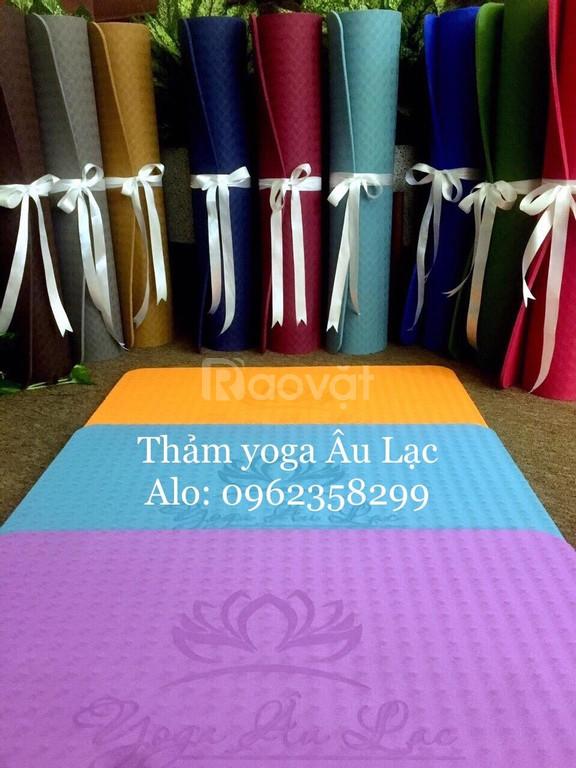 Thảm tập yoga giá tốt