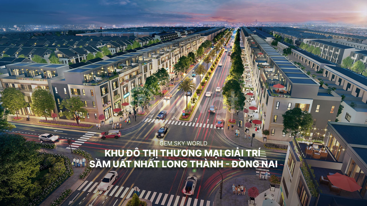 Khu đô thị Gem Sky World Long Thành, Đồng Nai cách sân bay 6km
