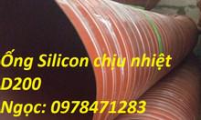 Chuyên cung cấp ống Silicon chịu nhiệt thông khí nóng, hút khói giá rẻ