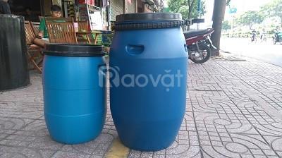 Thùng phi nhựa 100 lít đựng hóa chất