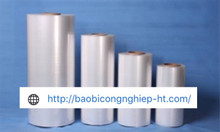 Màng co túi POF, PVC, PE | Máy bọc màng co
