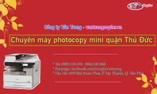 Chuyên máy photocopy mini quận Thủ Đức