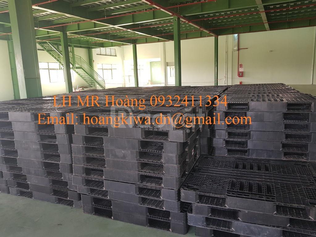 Chuyên nhận thu mua Pallet nhựa cũ, Pallet nhựa thanh lí tại Đà Nẵng
