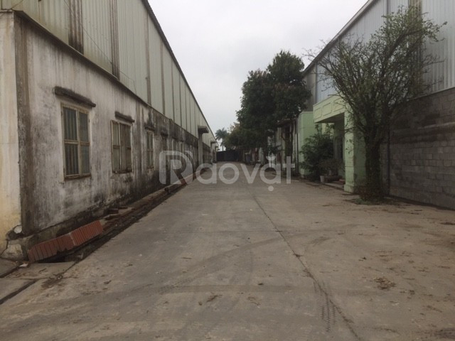 Bán kho xưởng DT 3000m2 KCN vừa và nhỏ Từ Liêm, Hà Nội