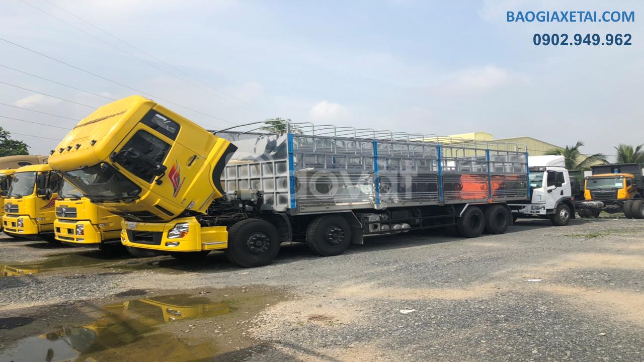 Mua xe tải 4 giò Dongfeng Hoàng Huy 17T9 Giảm giá 4 giò Dongfeng 2020