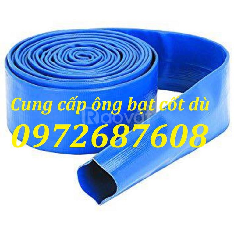 Ống bạt cốt dù pvc, ống bạt xả nước, xả cát tại tp Hồ Chí Minh