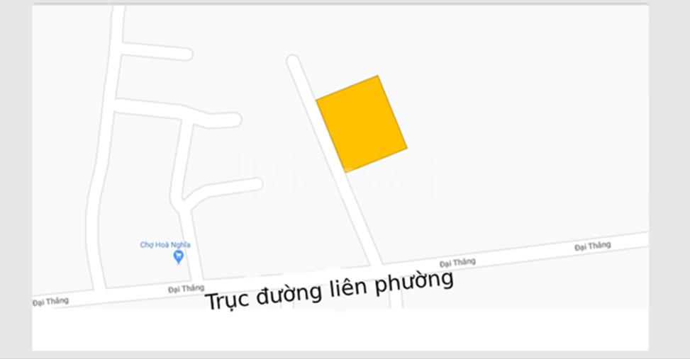 Bán đất thổ cư 332m2 tại quận Dương Kinh