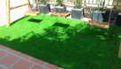 Thảm cỏ nhân tạo sân vườn 1cm giá rẻ (ảnh 4)