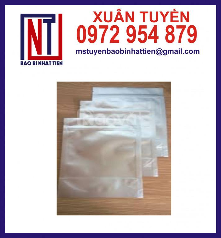 Sản xuất cung cấp túi nhôm ép 3 biên