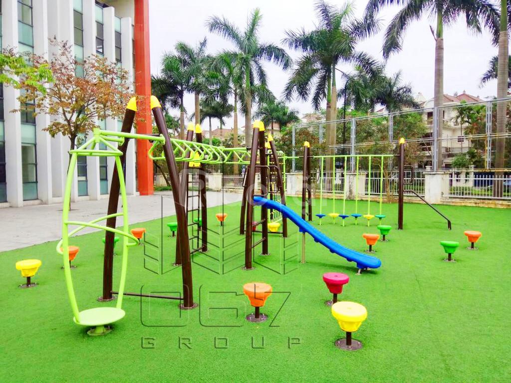 Cung cấp thiết bị sân chơi trường học (ảnh 4)