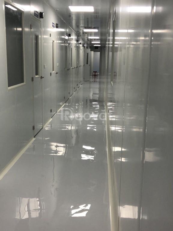 Báo giá thi công sơn epoxy trọn gói cho nhà xưởng bằng sơn KCC