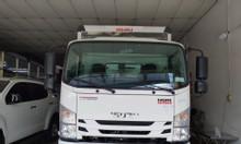 Isuzu 4.990kg, thùng Kín 6.2m, KM máy lạnh
