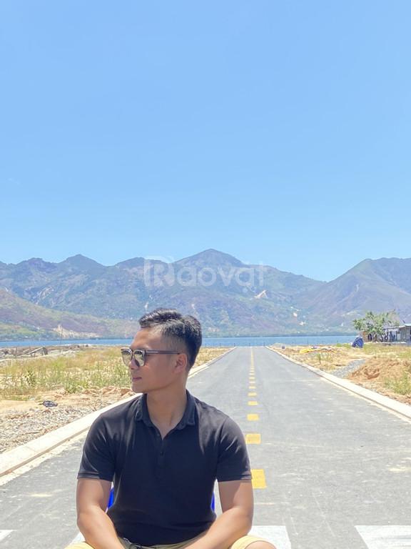 Bán 140m2 (10x14) đất sổ đỏ hạ tầng chuẩn đô thị view Đầm Thủy Triều