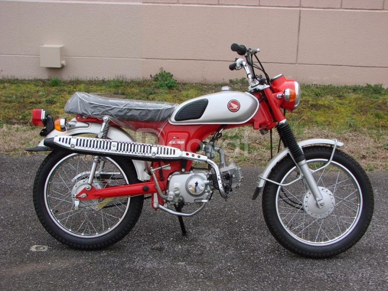 Bán xe Honda 67 đã lên dáng CL50 (ảnh 1)