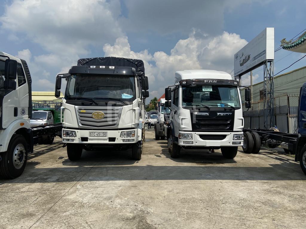 Đại lý bán xe tải faw 8 tấn thùng dài 8m2 chở hàng cồng kềnh