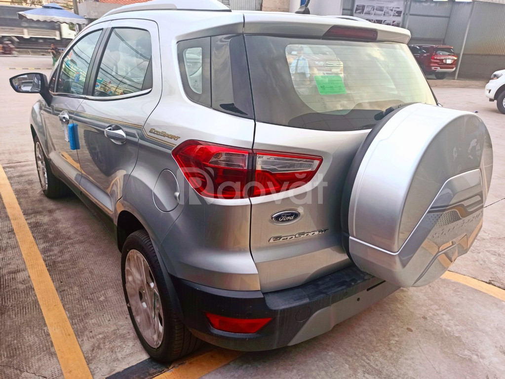 Ford Ecosport ưu đãi tháng 7