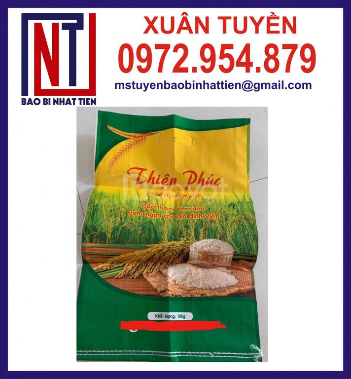 Bao bì gạo, bao PP đựng gạo
