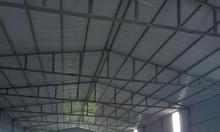 Cho thuê  kho, xưởng sản xuất DT 630m tại Vân Côn, Hoài Đức gần Đại Lộ