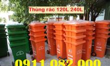 Bán thùng rác nhựa hdpe loại 120L 240L 660L
