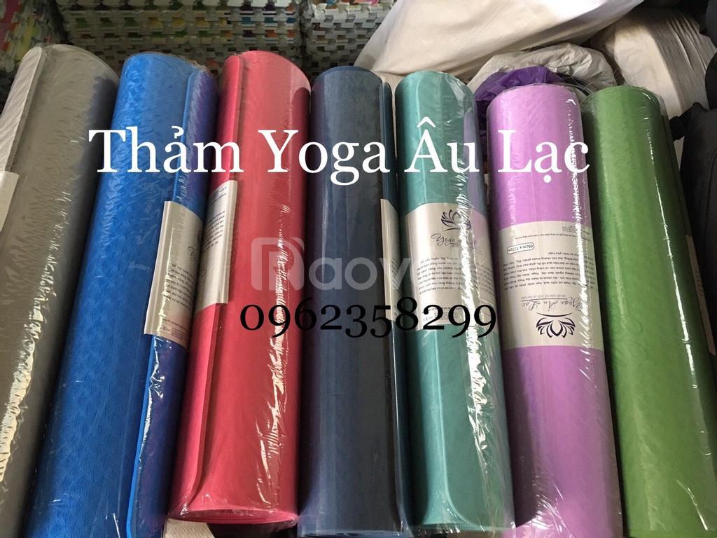 Thảm tập yoga giá tốt cho ace HLV