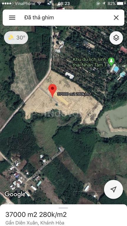 Đất vườn Diên Xuân huyện Diên Khánh tỉnh Khánh Hoà