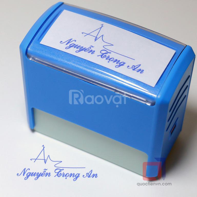 Làm dấu chữ ký giá rẻ, uy tín tại Tân Bình (ảnh 4)
