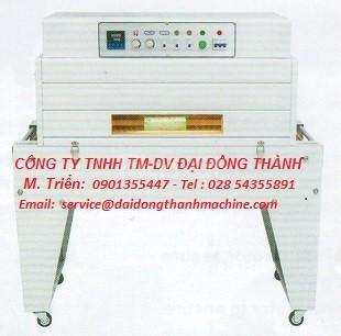 Máy đóng gói rút màng co WPD-4520 giá rẻ M.Tây, M.Nam, M.Đông, M.Bắc