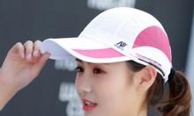 Mũ golf nữ, in logo giải lên mũ golf
