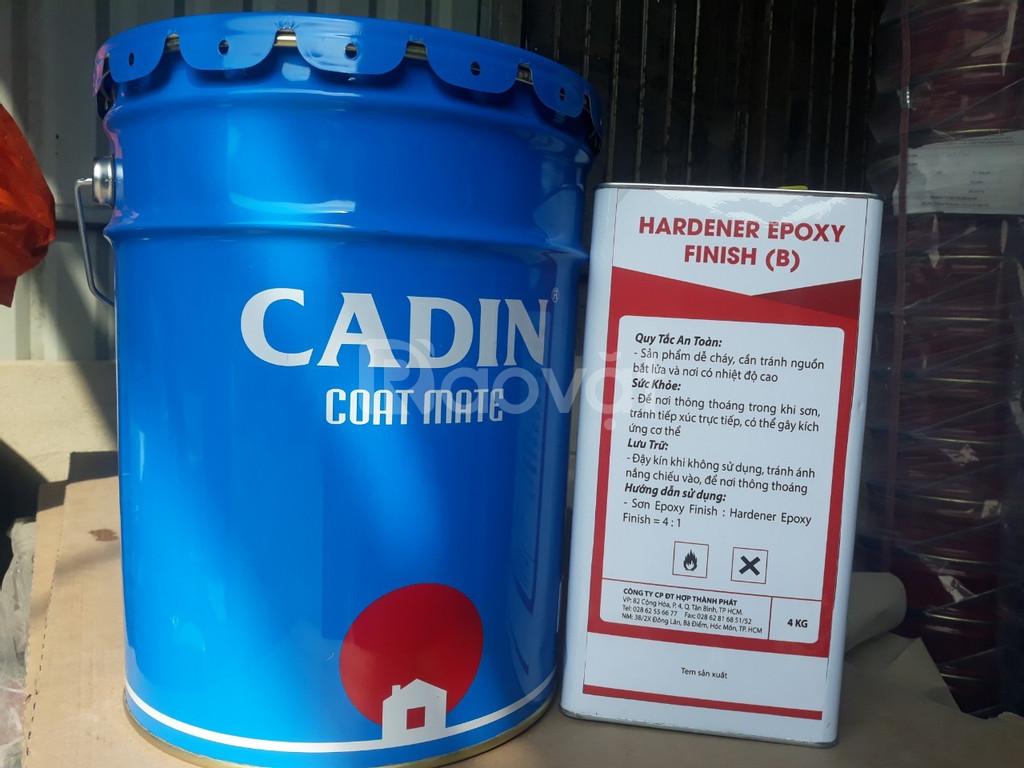 Chuyên cung cấp sơn PU Cadin 2 thành phần cho sắt thép ngoài trời