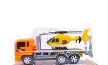 Đồ chơi xe tải chở máy bay cho bé