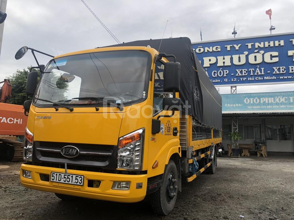 Xe tải cũ Veam VT260-1 thùng dài 6m đời 2019 odo 17.000 km