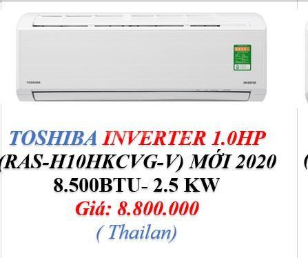 Máy Lạnh Toshiba Ras H10Hkcvg V - 1Hp