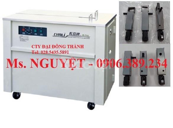Máy đóng dây đai bán tự động Chali JN-740 xuất xứ Đài Loan (ảnh 1)