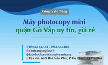 Máy photocopy mini quận Gò Vấp uy tín, giá rẻ