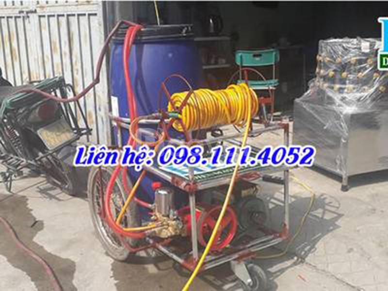 Bán máy phun thuốc trừ sâu tự chế công nghiệp 200L tại Hà Nội