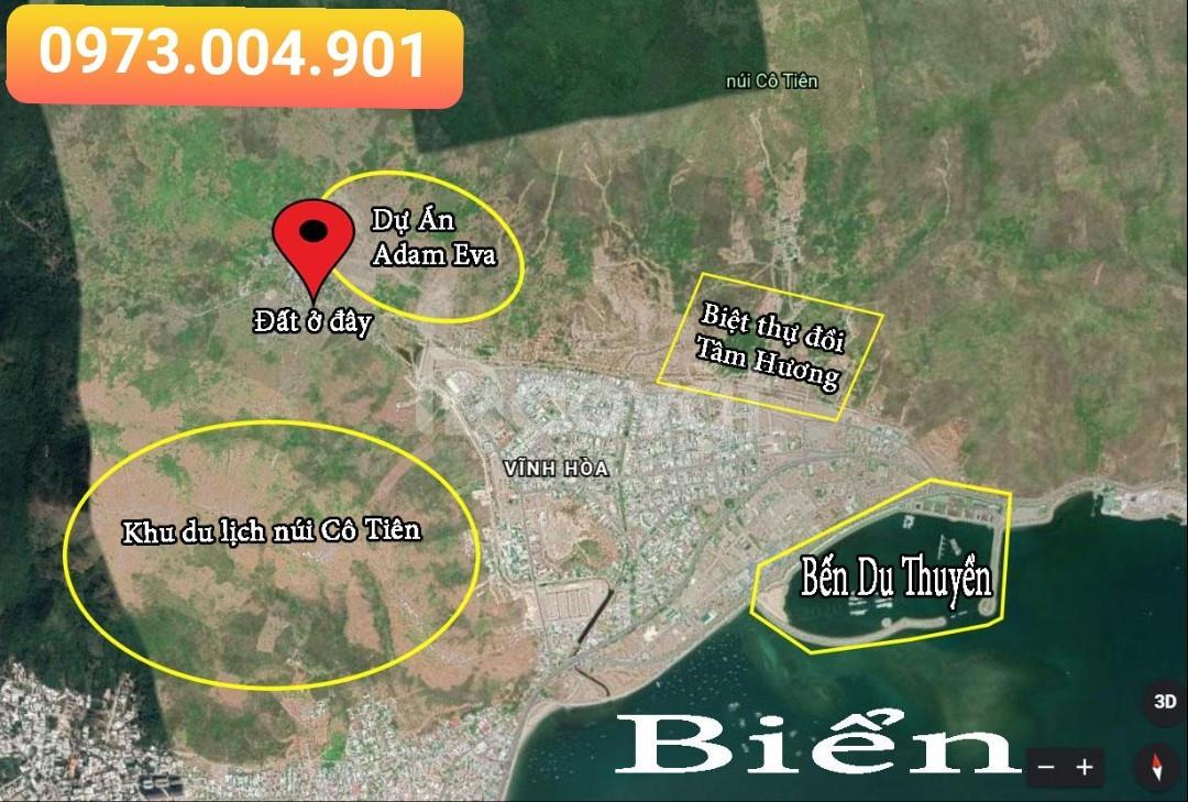 Bán đất Hòn Xện, Vĩnh Hòa, Nha Trang