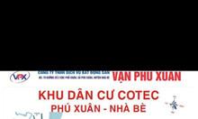 Chính chủ bán đất thổ cư đẹp xã Phú Xuân, Nhà Bè, giá tốt