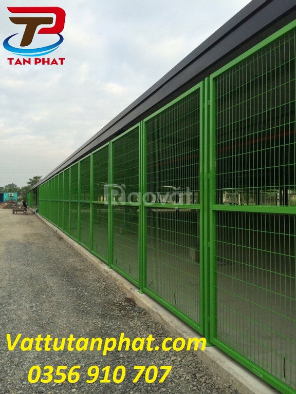 Lưới thép hàng rào, hàng rào thép, hàng rào kho dây 4ly,5ly