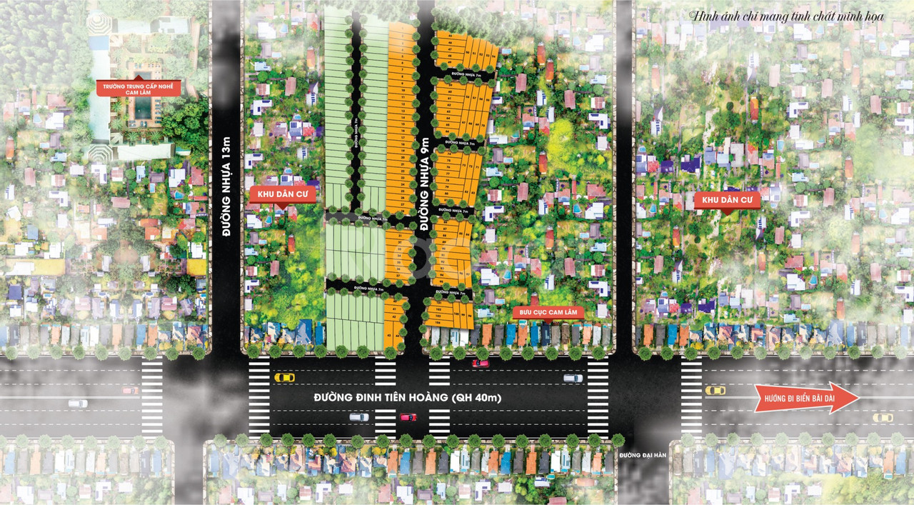Đất thị trấn Cam Đức, Cam Lâm giá rẻ