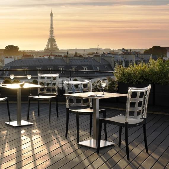 Bàn ghế cafe ngoài trời nhập Pháp