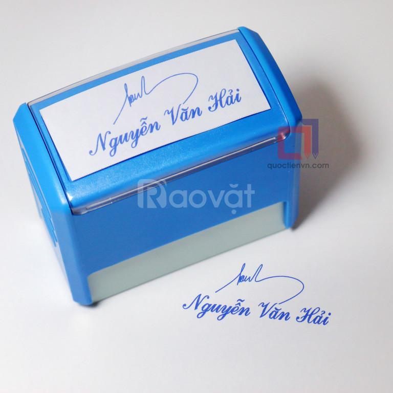 Làm dấu chữ ký giá rẻ, uy tín tại Tân Bình (ảnh 1)