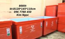 Bán thùng lạnh ướp thực phẩm 300 lít