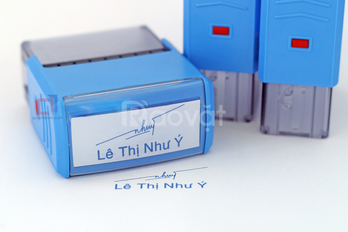 Làm dấu chữ ký giá rẻ, uy tín tại Tân Bình (ảnh 6)