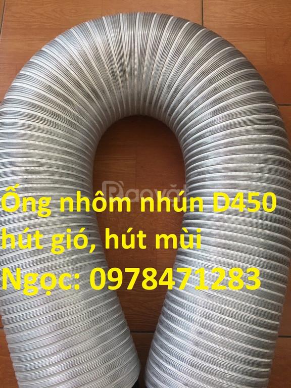 Địa chỉ bán ống nhôm nhún ống gió mềm nhôm cứng giá rẻ