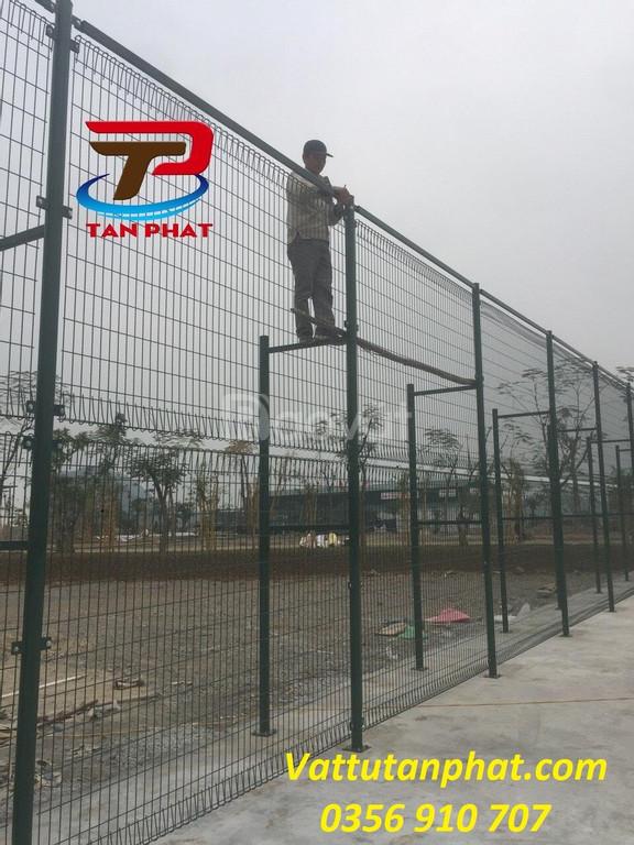 Hàng rào lưới thép, hàng rào mạ kẽm sơn tĩnh điện, hàng rào kho