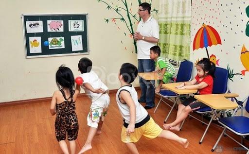 Khoá học phát huy toàn diện phản xạ tiếng Anh tự nhiên cho trẻ